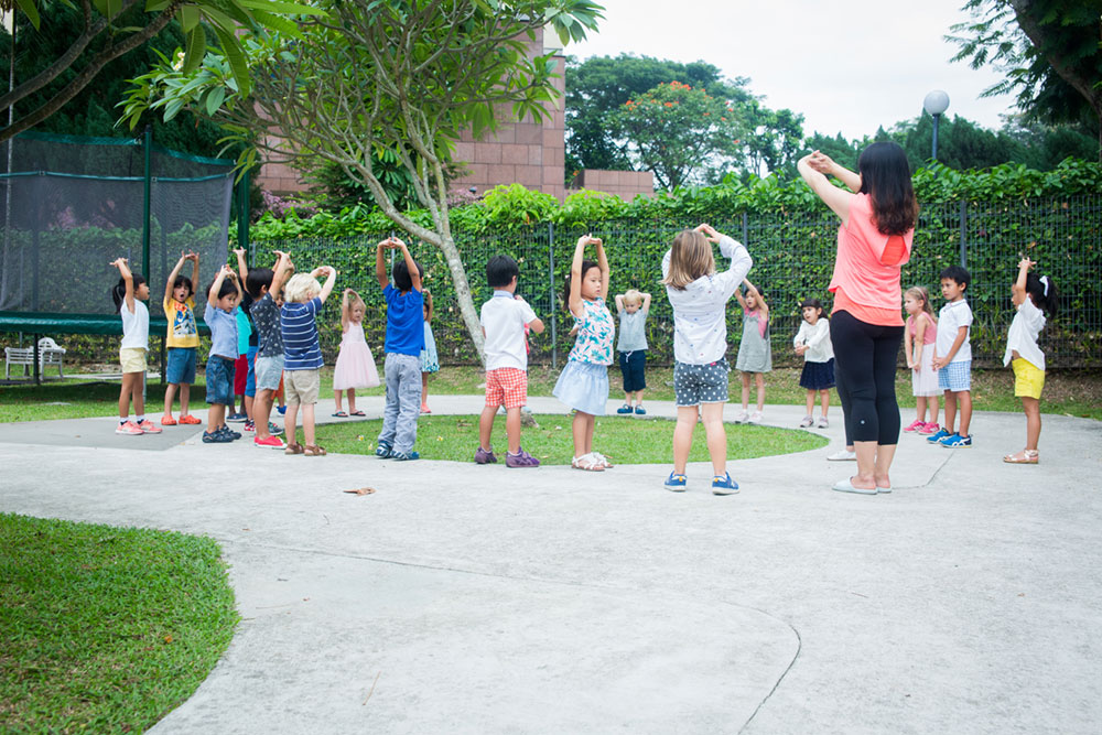 Heartfield Outdoor Exploration and Nature Morning exercises